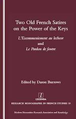 Two Old French Satires on the Power of the Keys