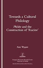 Towards a Cultural Philology