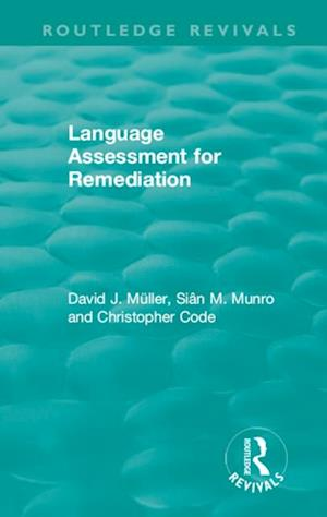 Language Assessment for Remediation (1981)