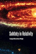 Subtlety in Relativity