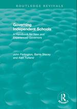 Governing Independent Schools (Routledge Revivals)