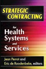 Strategic Contracting for Health Systems and Services