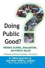 Doing Public Good?