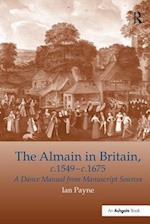 'The Almain in Britain, c.1549-c.1675                                                                                                                                                          '
