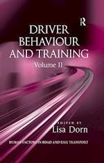 Driver Behaviour and Training: Volume 2