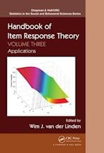 Handbook of Item Response Theory, Volume Three (Chapman & Hall/Crc Statistics in the Social and Behavioral Sciences)