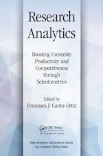 Research Analytics (Data Analytics Applications)