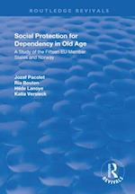 Social Protection for Dependency in Old Age (Routledge Revivals)