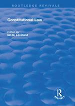 Constitutional Law (Routledge Revivals)