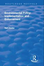 Environmental Policy (Routledge Revivals)
