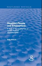 Revival: Disabled People and Employment (2001)