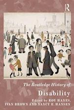 Routledge History of Disability (The Routledge Histories)