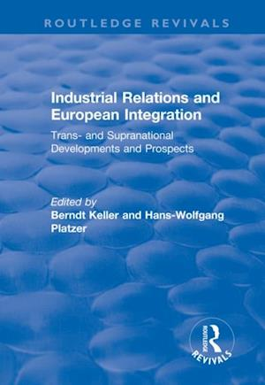 Industrial Relations and European Integration