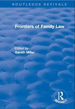 Frontiers of Family Law