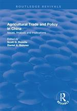Agricultural Trade and Policy in China (The Chinese Trade And Industry Series)