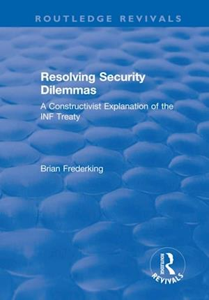 Resolving Security Dilemmas
