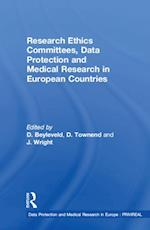 Research Ethics Committees, Data Protection and Medical Research in European Countries (Data Protection and Medical Research in Europe: PRIVIREAL)