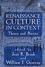 Renaissance Culture in Context