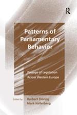 Patterns of Parliamentary Behavior