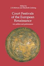 Court Festivals of the European Renaissance