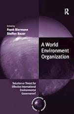 World Environment Organization (Global Environmental Governance)