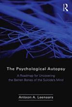 Psychological Autopsy af Antoon Leenaars