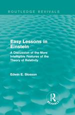 Routledge Revivals: Easy Lessons in Einstein (1922) (Routledge Revivals)