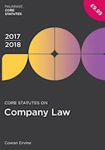 Core Statutes on Company Law 2017-18