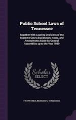 Public School Laws of Tennessee af Tennessee Tennessee, Morgan C. Fitzpatrick