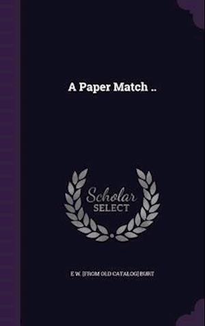 A Paper Match ..