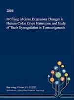 Profiling of Gene Expression Changes in Human Colon Crypt Maturation and Study of Their Dysregulation in Tumourigenesis