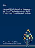 Accountability in Street-level Bureaucracy: the Case of Frontline Government Social Worker in the Field of Domestic Violence