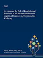 Investigating the Role of Psychological Resources in the Relationship Between Cognitive Processes and Psychological Wellbeing