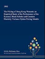 The Pricing of Hong Kong Wattants