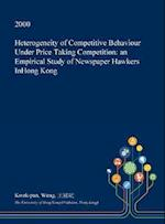 Heterogeneity of Competitive Behaviour Under Price Taking Competition