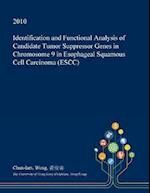 Identification and Functional Analysis of Candidate Tumor Suppressor Genes in Chromosome 9 in Esophageal Squamous Cell Carcinoma (Escc)