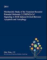 Mechanistic Study of the Transient Receptor Potential Melastain 2 (Trpm2)-CA⁺ Signaling in Ros Induced Switch Between Apoptosis and Autophagy