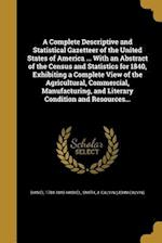 A Complete Descriptive and Statistical Gazetteer of the United States of America ... with an Abstract of the Census and Statistics for 1840, Exhibitin af Daniel 1784-1848 Haskel