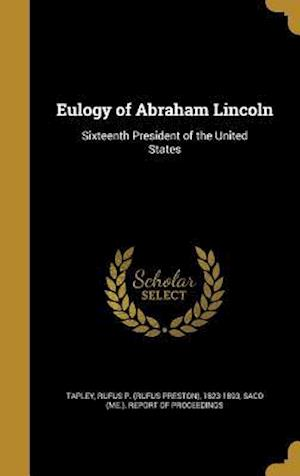 Bog, hardback Eulogy of Abraham Lincoln