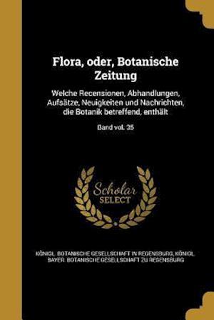 Bog, paperback Flora, Oder, Botanische Zeitung
