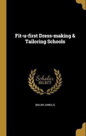 Bog, hardback Fit-U-First Dress-Making & Tailoring Schools