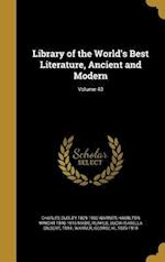 Library of the World's Best Literature, Ancient and Modern; Volume 40 af Hamilton Wright 1846-1916 Mabie, Charles Dudley 1829-1900 Warner