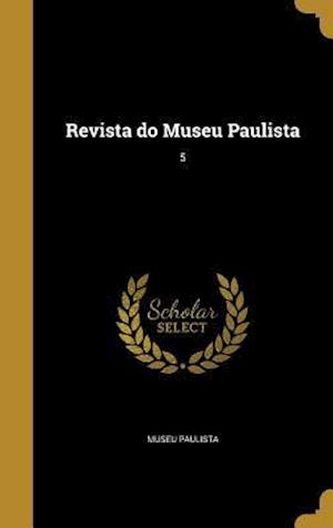 Bog, hardback Revista Do Museu Paulista; 5