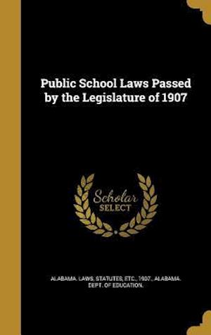 Bog, hardback Public School Laws Passed by the Legislature of 1907