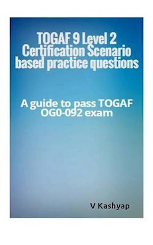 Bog, paperback Togaf 9 Level 2 Exam Question Bank