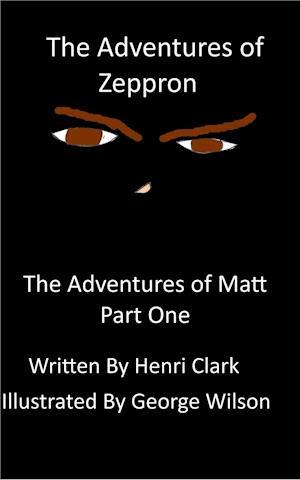 Bog, hæftet The Adventures of Zeppron af Henri Clark