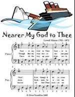 Nearer My God to Thee - Easy Piano Sheet Music Junior Edition