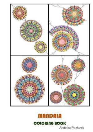 Bog, paperback Mandala - Coloring Book for Adults af Andelka Pankovic