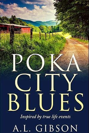 Bog, hæftet Poka City Blues af A.L. Gibson