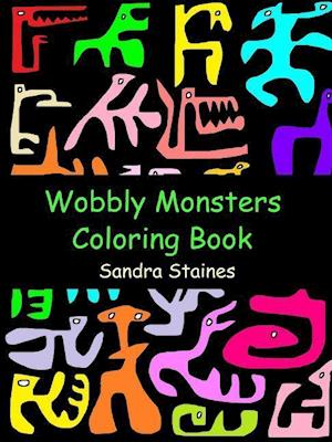 Wobbly Monsters Coloring Book